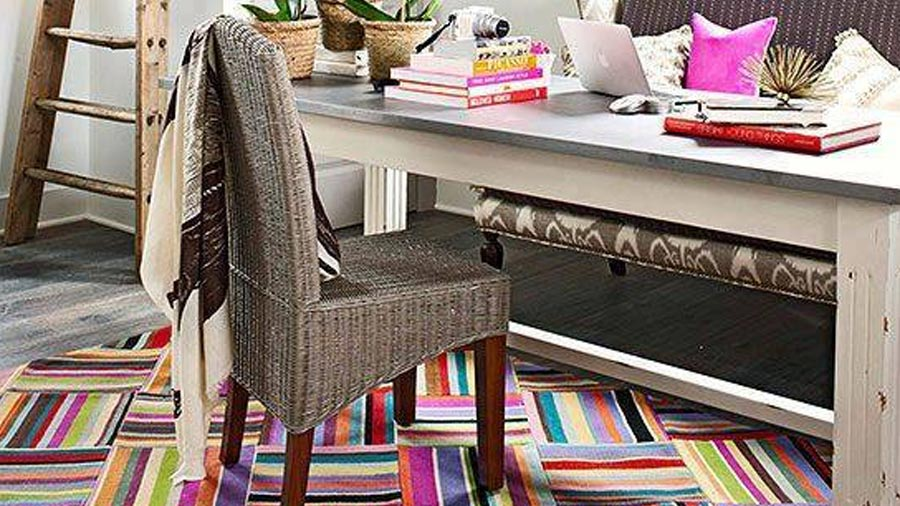 Colorful Office Rug