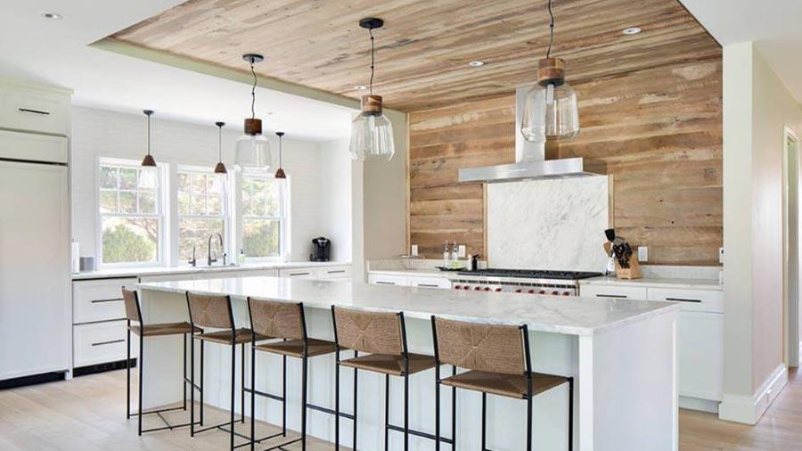 Rustic Oak Kitchen
